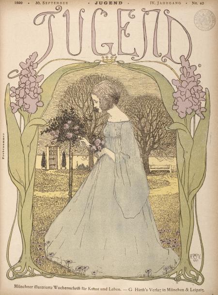 Jugend Magazine, Sept 30 1899