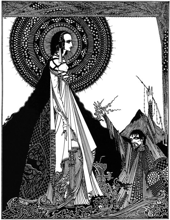 Ligeia by Harry Clarke