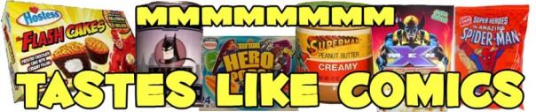 Tastes Like Comics